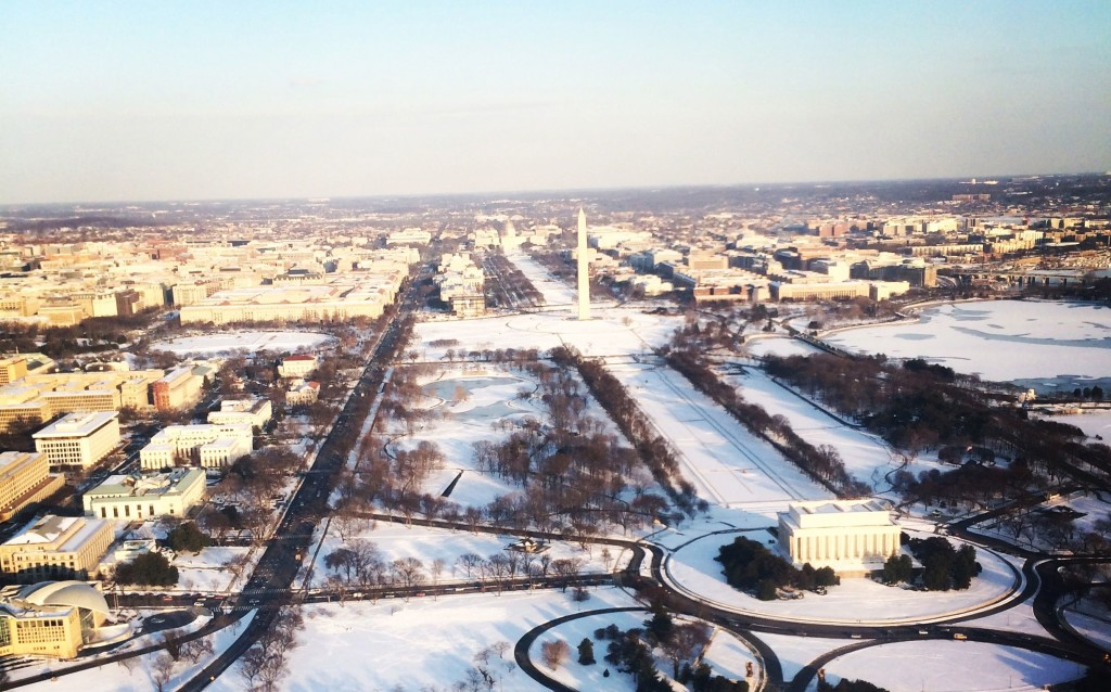 DC by snow