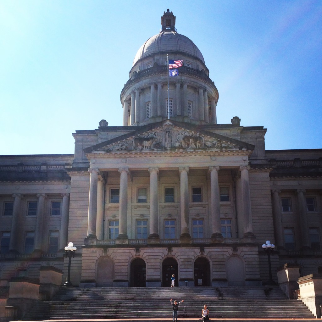 Road trip in the US: Capitol of Francfort, KY