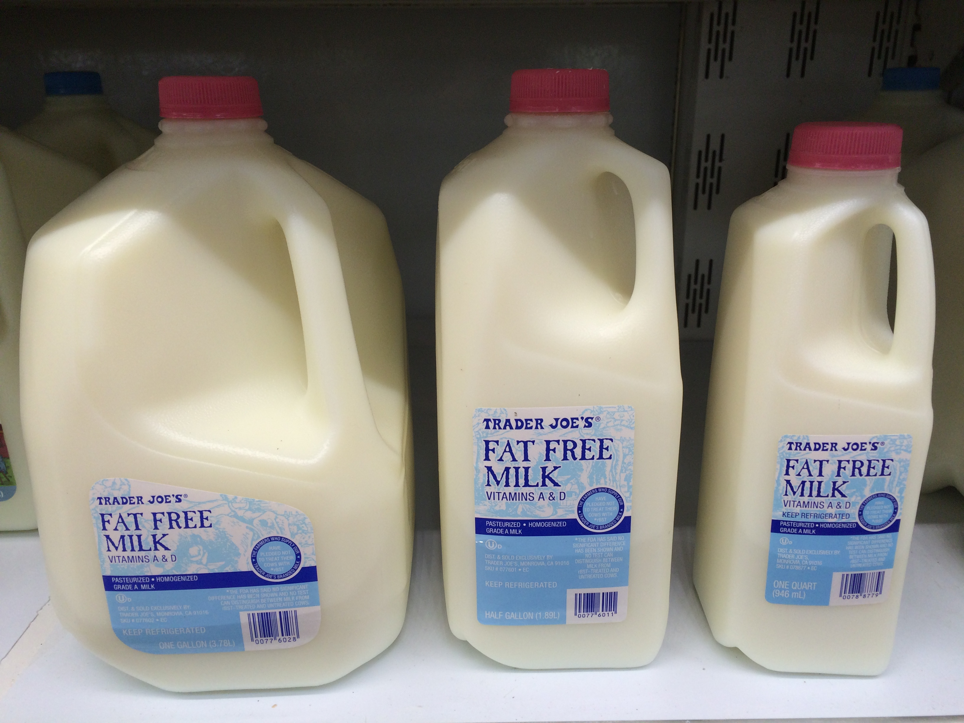 Milk: The little day-to-day differences between France and the USA