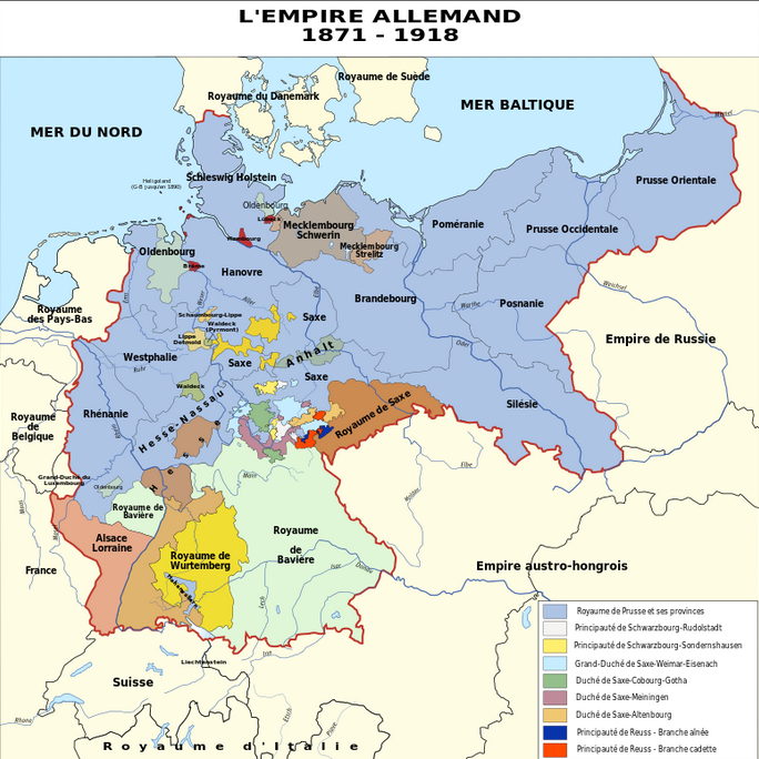 L'Empire Allemand 1871-1918