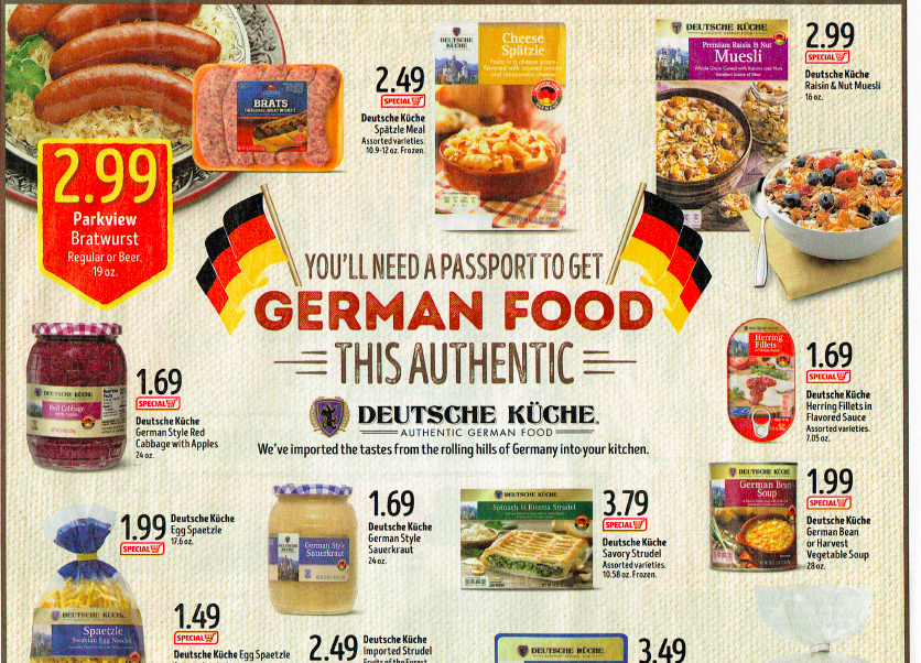Aldi Food Products